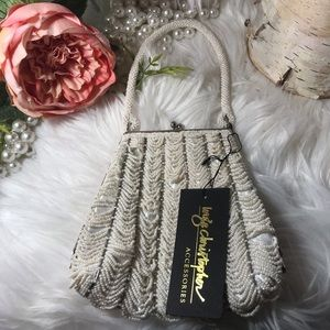 NWT Inge Christopher Coin Purse Bag Clutch